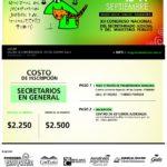 INVITACION XII CONGRESO NACIONAL DEL SECRETARIADO JUDICIAL Y DEL MINISTERIO PUBLICO