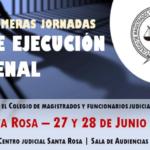 INSCRIPCIÓN Primeras Jornadas de Ejecución Penal
