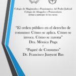 ¡SUSPENDIDA! Jornada gratuita: El orden público en el derecho de consumo