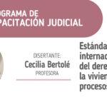 Programa de CAPACITACIÓN JUDICIAL