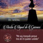 Bicentenario del paso a la inmortalidad del General MARTIN MIGUEL DE GÜEMES